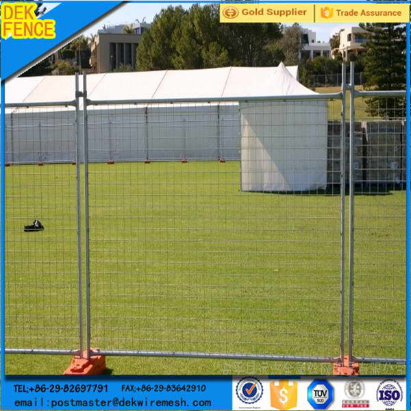PVC Coated Galvanized Metal Welded Square Tube Frame Fence