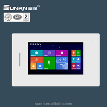 2017 best selling SUNRN ip based video intercom with smart home function