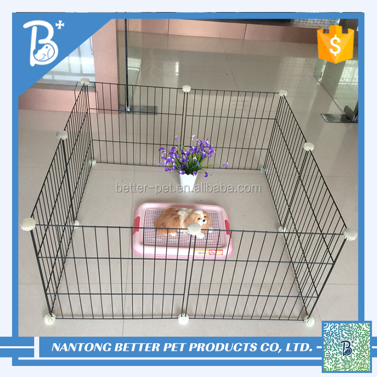 cheap metal wire folding pet house dog cage pet products