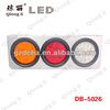 universal semi trailer red amber clear color led round combination rear light