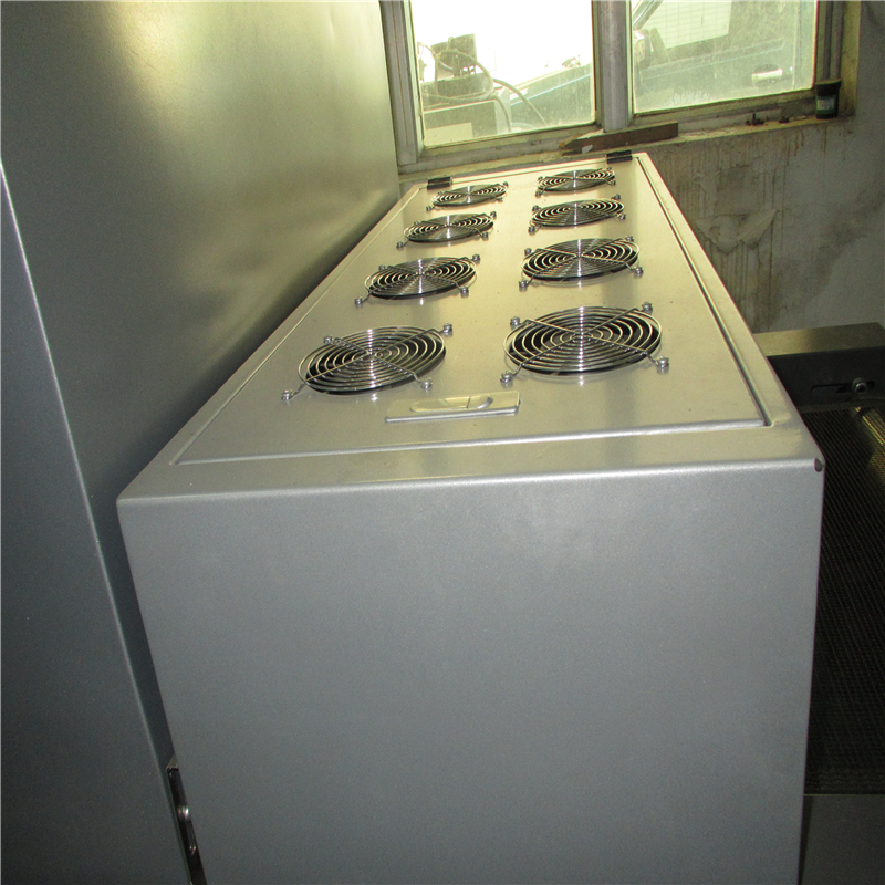 lens surface touch screen Industrial IR conveyor oven TM-IR-S