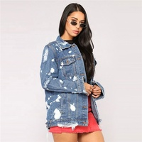 High Quality Elastic Bulk Girls Clothes Popular Wholesale Denim Jackets