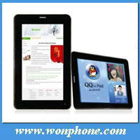 Cheapest 2G call tablet PC 7 inch Allwinner A13 Android 4.0.3 F1 512MB 4GB 1.2Ghz Camera 2G Wifi