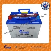 car battery high quality 12 VOLTA DRY CHARGED Car Battery 50D20L 12V50AH