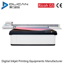High configuration Ricoh G5 flatbed uv printer a3 size