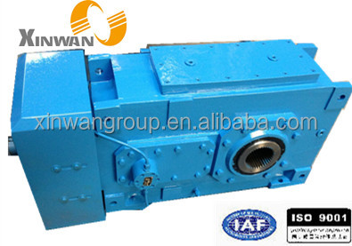 China HB series high power torque large reduction gear box angle drive