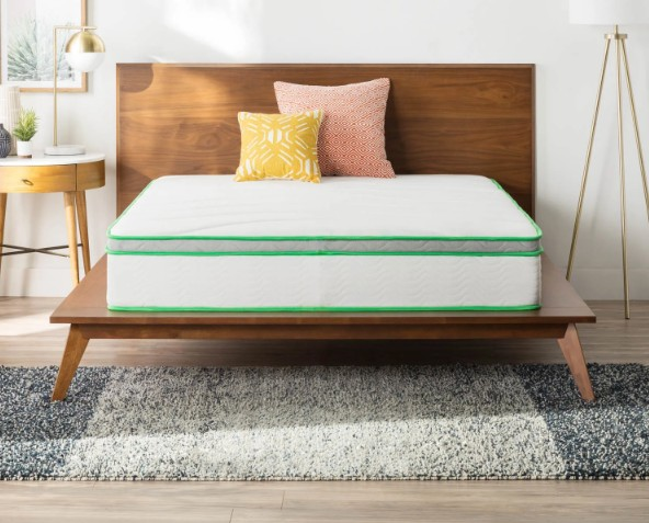 Essentials 10-inch Full-size Supportive and Responsive Hybrid Mattress - Jozy Mattress | Jozy.net