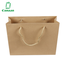 High Quality Custom Block Bottom Brown Kraft Paper Bags With Personalized Logo