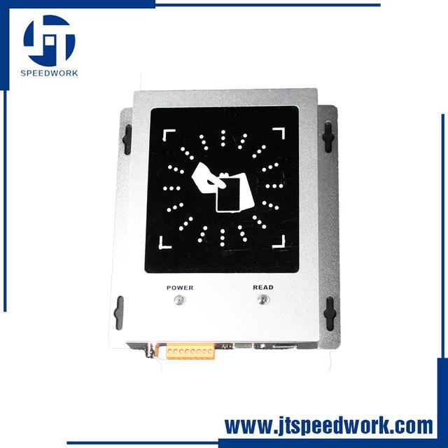 JT--8300 80~100cm 5dbi Wiegand26/34/32 customized polarization short range reader metal Case UHF RFID Desktop Reader