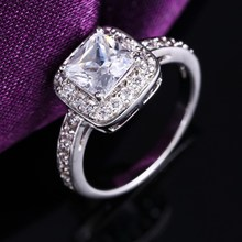 Trendy best sell silver plated men rings jewelry