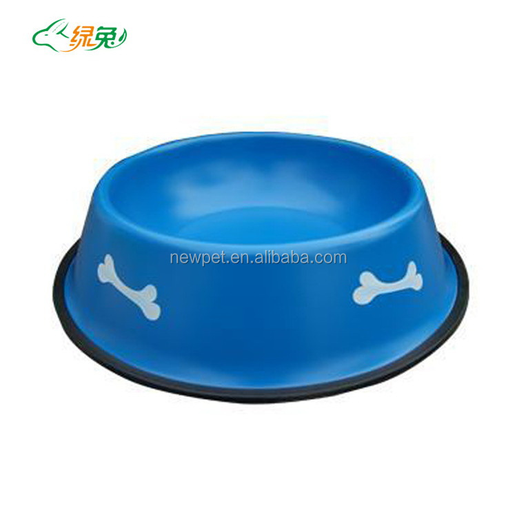 Direct factory best-selling sand blast non-toxic pet bowl dog kennels with dog bowl