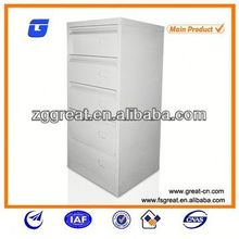 filing cabinet, drawer-type unassembled metal cabinet