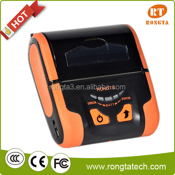 RPP200----portable thermal printer mini printer mobile printer,Support USB, power adapter or mobile power charging