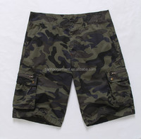 Men's Cargo Short,Camouflage Short,Garment dyed short