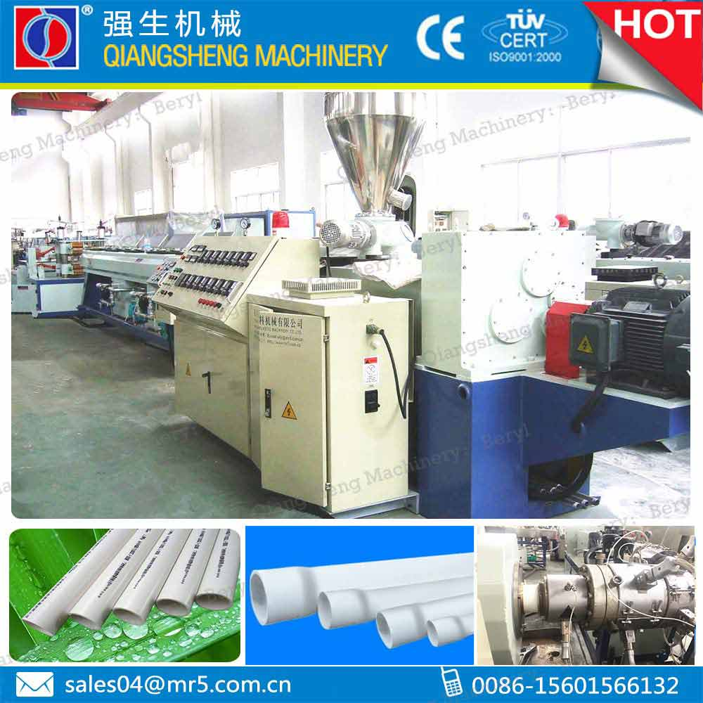 customized -made dual PVC tube plastic extrusion machinery CHINA plant