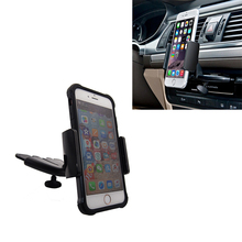 3 in 1 360 Degree Car Universal CD Slot Mount Stand Car Phone Holder Mount For iphone 4 5 S 6 6S Mounts