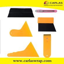 Yellow squeegee for auto parts car sticker