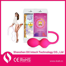 Seamless Remote App Control Waterproof WiFi Video Chat Vibrator Sex Toys For Male And Women Kegel Ball