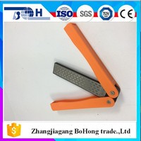 Double-sided flat diamond fast knife sharpener for grind all kinds of knives scissors