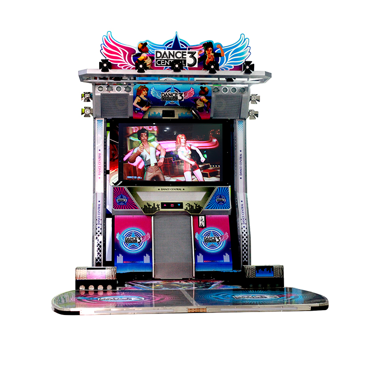 New Coin Operated Motion Sensing Dancing Video Game Machine Amusement Electronic Arcade
