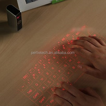 bluetooth mini size projection keyboard for laptop with russian keyboard