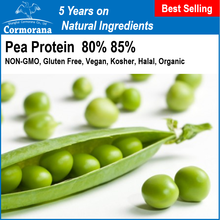 EU Organic Pea Protein Powder 80% 85% with Ready Stock Promotion in 2017