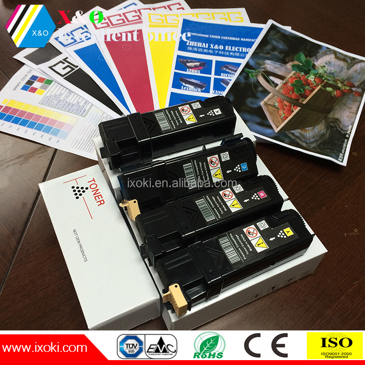 compatible China premium toner cartridge xerox phaser 6125 with high quality japan powder