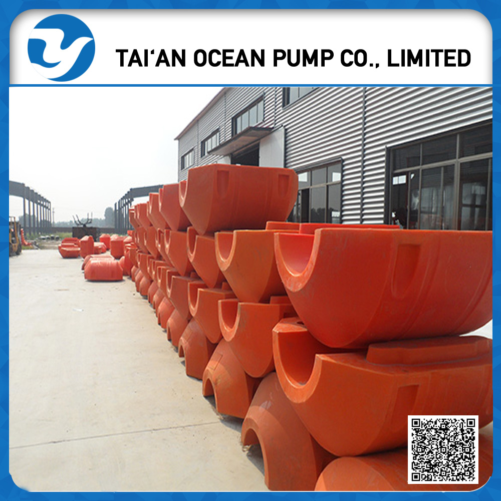 MDPE floater Sea dredger PE dredge pipe use