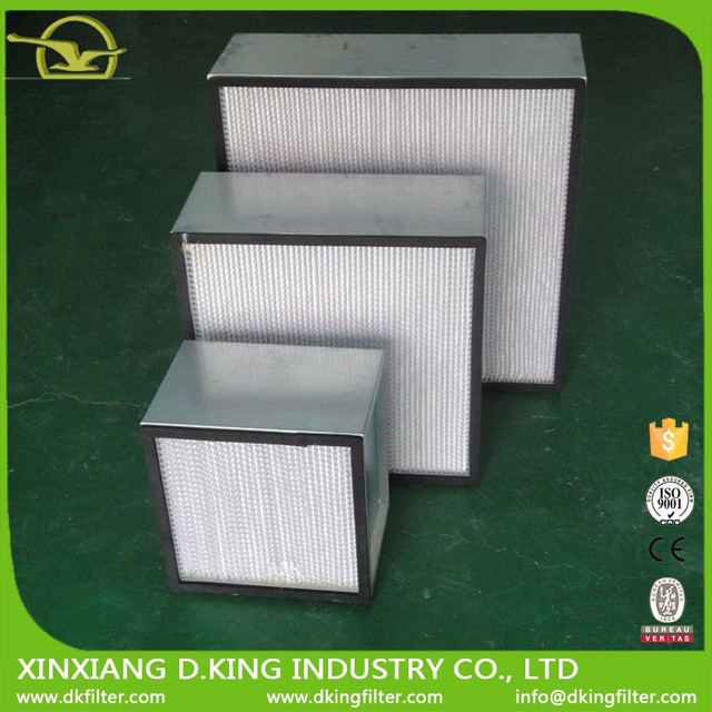 2017 high air volume,small resistance,large amount of dust and easy installation's plate frame type air filter