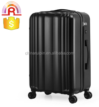 pure color ABS PC hard side lightweight Carry-On travel luggage case