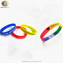 Buy factory online custom silicone rubber wrist bands wristbands create a bracelet