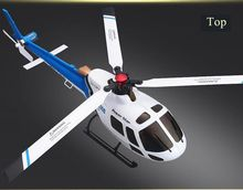 WLtoys V931 2.4G 6CH Brushless AS350 Scale Flybarless RC Helicopter with gyro stable flying