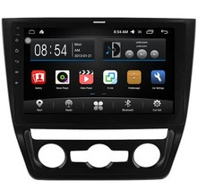 OTOJETA 10.2inch Quad Core Android 6.0 Car multimedia player dvd recorder for 2014 Skoda Yeti BT gps radio car stereo