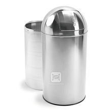 50L dome cover garbage bin / garden trash can