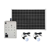 50W Factory Price of solar energy Lighting Generator Solar Power System for Home UPS