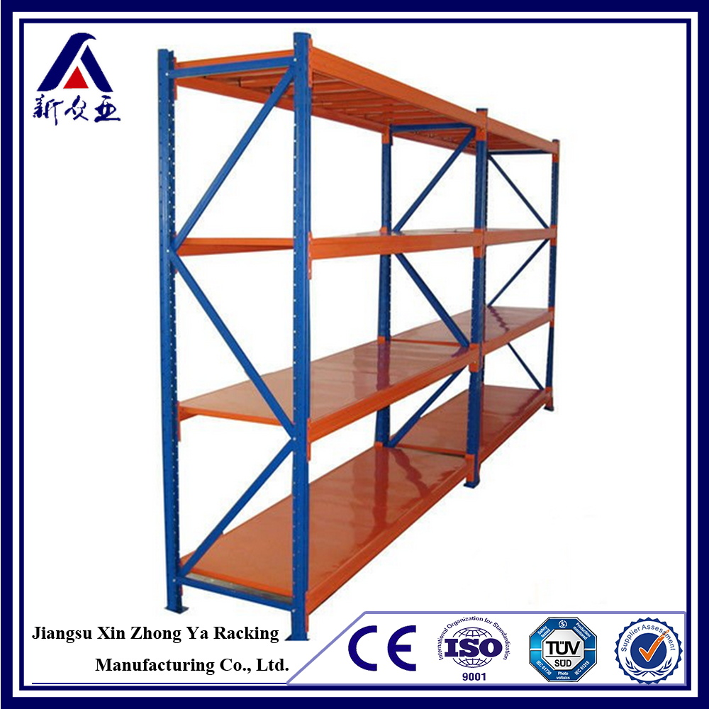Adjustable customized steel shelf post and beam