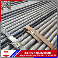 Precision round black pipe/Black annealed round steel tube