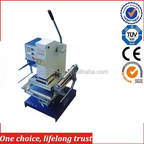 TJ-30 New products Manual Hot Stamping Machine For Ice Cream Stick/Pegwood/Wood Chip/Flagpole/Coffe Stick Imprint Logo