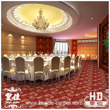 Cut Pile Broadloom Wilton Carpet for Hotel Guestroom Banquet Hall