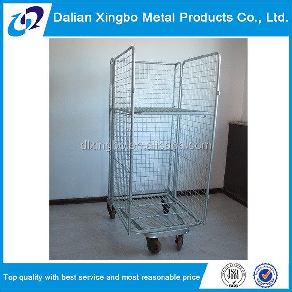 high quality hot sale roll container trolley