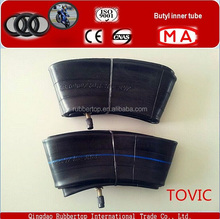 factory KOREA tovic butyl inner tube motorcycle for sale 245/70 16/17
