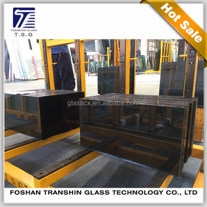 Building Materials Tempered Single Glass Sheet