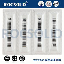 Security anti-theft am soft dr label, EAS barcode dr label, EAS am security sticker