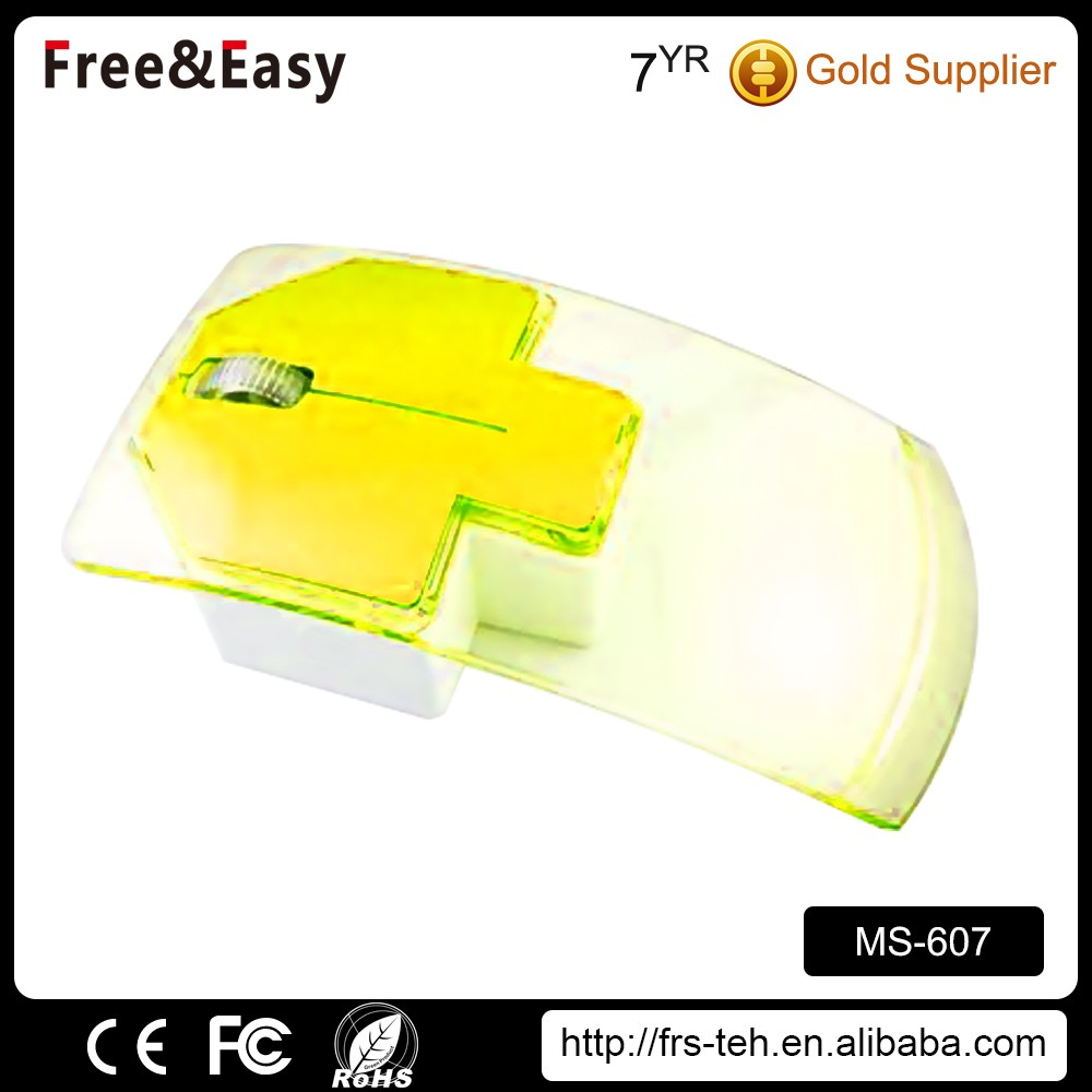 Color changing usb cable rainbow optical wired mouse
