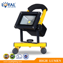 IP68 Waterproof aluminum portable 10w battery powered led flood lights