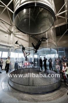 Free fall Simulator, Vertical Wind Tunnel for Indoor Skydiving, VWT-FFS-4372