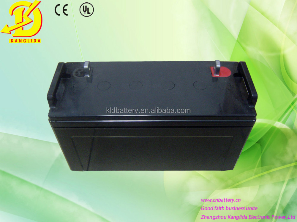 12v 120ah Deep cycle rechargeable gel battery used in solar energy system