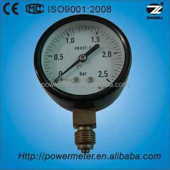"(Y-60) 2.5"" 60mm low pressure for natural gas oem common pressure gauges"