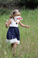 Modern girl dress well dressed wolf remake baby clothing low MOQ girl dress remake