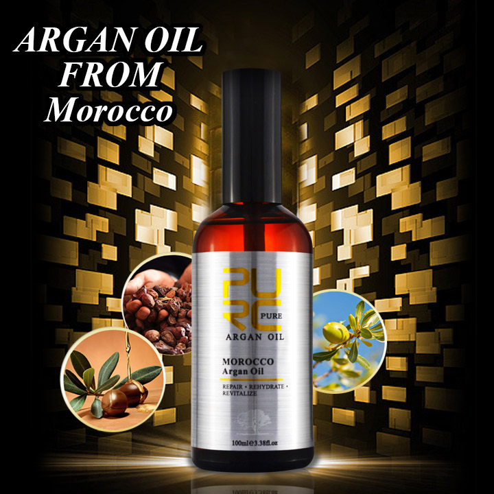 Private label Professional beauty care salon argan oil best hair serum for dry and damaged hair